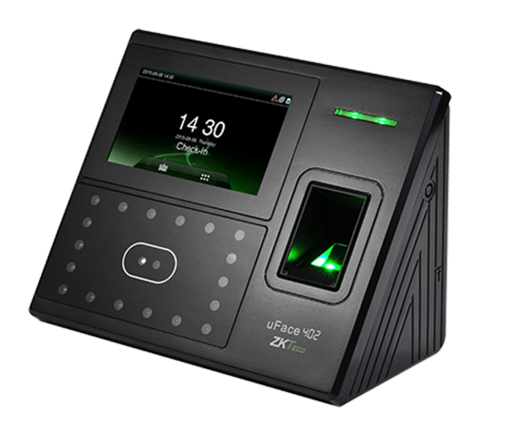 ZKTeco uFace402 Multi-Biometric T&A And Access Control Terminal