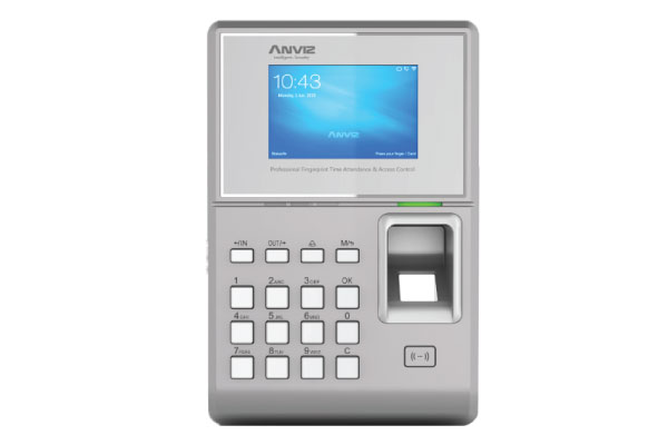 ANVIZ TC580 POE & 3G Fingerprint Time & Attendance Access Control