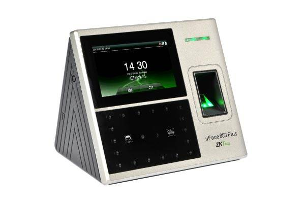 ZKTeco uFace 800 Plus 3-in-1 con-tactless Palm/Face/Fingerprint/Card Time Attendance